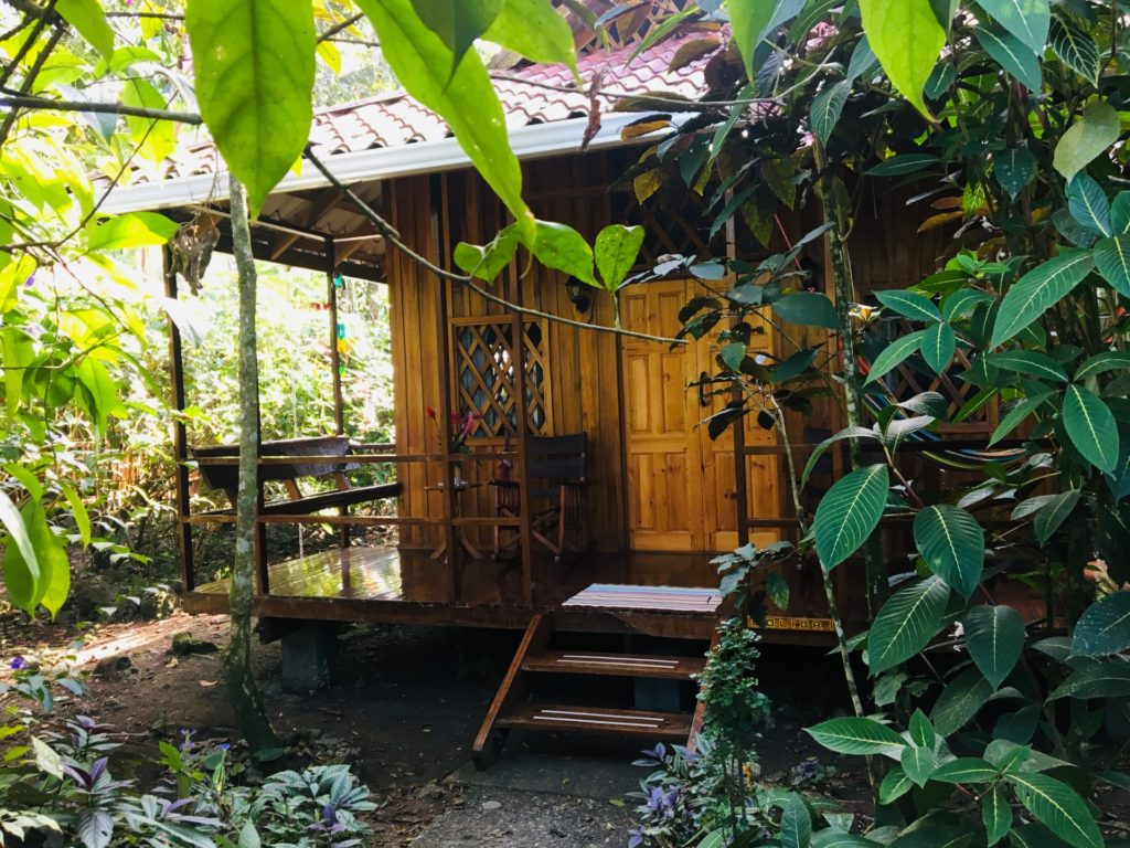 Colibri Bungalow at Coral Hill Bungalows, Cahuita, Costa Rica