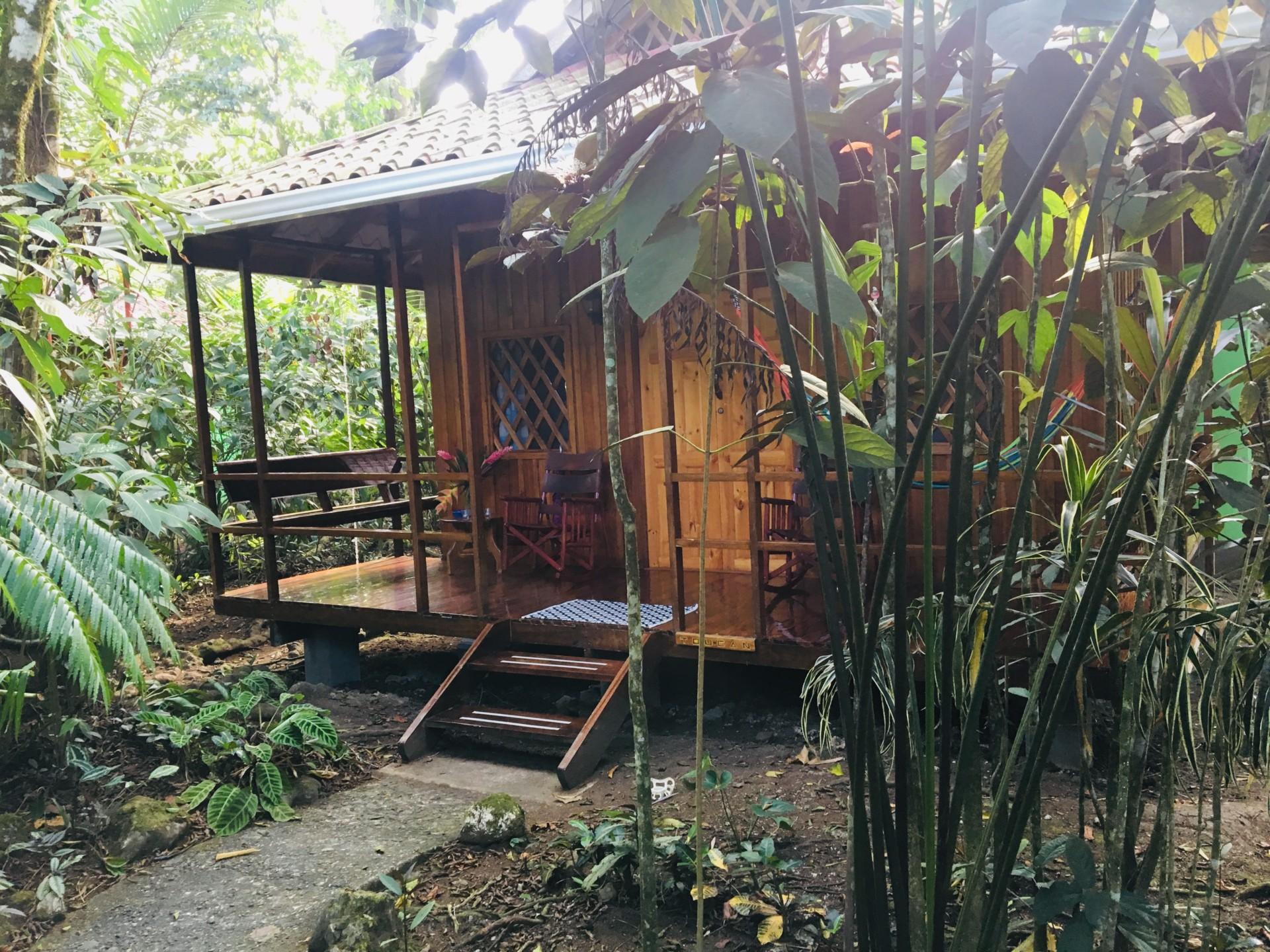 Toucan Bungalow at Coral Hill Bungalows, Cahuita, Costa Rica