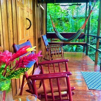 Spacious Bungalow porch