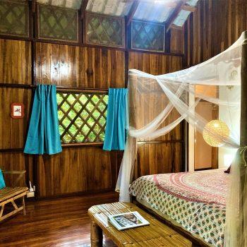 Interior view of Colibri bungalow