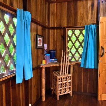 Interior view Colibri bungalow