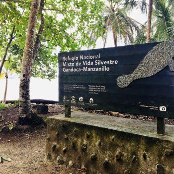Entrance to Manzanillo-Gandoca Refuge - Under Coral Adventure tab