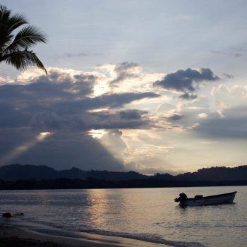 Sunset Puerto Viejo, Costa Rica