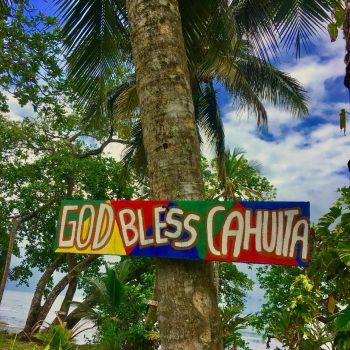 cahuita beach sign1
